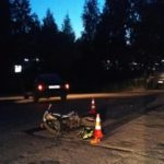 В Оричевском районе в тройном ДТП пострадал 16-летний водитель питбайка