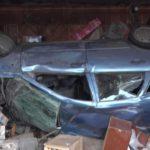 В Вятских Полянах автомобиль влетел в жилой дом