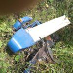 В Санчурском районе бесправник на мотоцикле опрокинулся в кювет