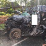 В страшном столкновении грузовика и легкового автомобиля в Слободском районе погиб мужчина