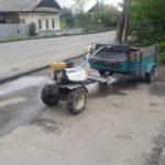 В Зуевке водитель мотоблока сбил велосипедиста