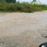 В Кирове полностью затопило улицу