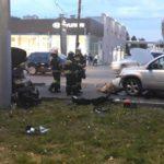 В Кирове столкнулись два легковых автомобиля