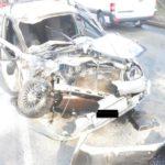 После лобового столкновения «Калины» и грузовика в Кирове госпитализирован водитель легковушки