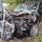 На трассе в Кировской области легковой автомобиль столкнулся с грузовиком