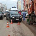 В Кирове водитель «Ниссана» сбил 7-летнего мальчика на велосипеде