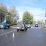 В Кирове столкнулись две «Тойоты»: пострадала 68-летняя женщина