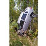 В Яранском районе водитель «Калины» вылетел в кювет и врезался в дерево