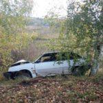 В Зуевском районе пьяный бесправник на «ВАЗе» врезался в дерево: пострадали три человека