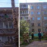 В Кирове спасатели сняли ребенка с козырька балкона 5 этажа