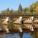 В Афанасьевском районе официально открыли мост через Сюзьву