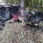 В УГИБДД рассказали подробности ДТП с разорванным автомобилем в Кирове