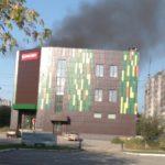 В Кирове горело здание крупного торгового центра