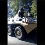 На улицах Кирова заметили военную технику