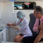 В Кирове начали работать мобильные прививочные бригады