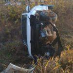 На трассе в Малмыжском районе погиб 27-летний водитель «Фольксвагена», опрокинувшись в кювет