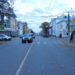 В Кирове водитель «Ниссана» сбил женщину на пешеходном переходе
