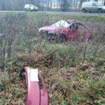 В Пижанском районе «Лада Калина» опрокинулась в кювет: госпитализирован 25-летний мужчина