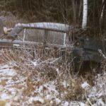 В Подосиновском районе погиб водитель «ВАЗа», опрокинувшись в кювет