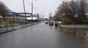 В Кирове водитель «ВАЗа» сбил мужчину на пешеходном переходе
