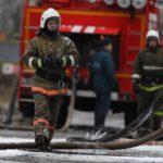В Даровском сгорел двухквартирный дом
