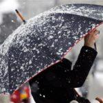 На рабочей неделе дожди в Кировской области сменятся снегопадами