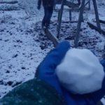На севере Кировской области местные жители уже смогли сыграть в первые «снежки»