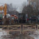 В Кирове из-за прорыва теплотрассы без отопления остались десятки домов, садик и колледж