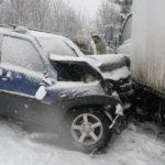 В Нагорске в столкновении «Нивы Шевроле» и грузовика погиб мужчина