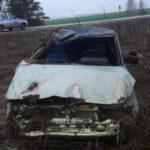 В Пижанском районе водитель «ВАЗа» опрокинулся в кювет: два человека госпитализированы