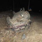 В Сунском районе водитель «Приоры» опрокинулся в кювет