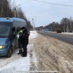 В Кирове автоинспекторы усилили контроль за перевозками пассажиров на автобусах и такси