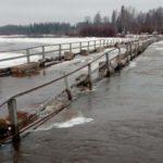 В Кировской области затопило еще один мост