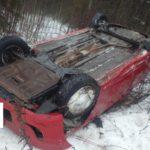 В Кирово-Чепецком районе водитель «Хендэ» опрокинулся в кювет: пострадал 2-летний ребенок