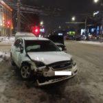 В Кирове столкнулись «Форд» и «Ауди»