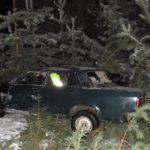 В Пижанском районе водитель «ВАЗа» опрокинулся в кювет