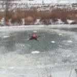 В Кировской области на реке Немда образовался огромный ледяной диск