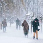В Кировской области объявлено метеопредупреждение: ожидаются метели и мокрый снег с дождем