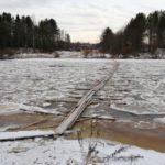Следком начал проверку по факту отсутствия безопасной переправы через реку Молома в Даровском районе