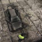 В Кирове автомобиль упал с моста на железнодорожные пути