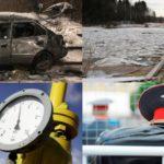 Итоги недели: падение автомобиля с моста в Кирове, проверка по переправе и плата за мусор без оказания услуги