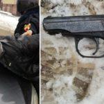 В Кирове задержали вооруженного мужчину, открывшего стрельбу по стражам порядка