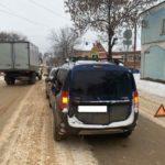 В Котельниче столкнулись «Лада Ларгус» и «Шевроле»: пострадал 35-летний мужчина