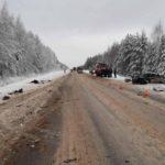 В Мурашинском районе на трассе «Вятка» произошло массовое ДТП