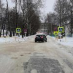 В Омутнинске женщина-водитель иномарки сбила пешехода
