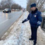 Кировские автоинспекторы обследуют дороги областного центра