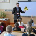 Специалисты «Россети Центр и Приволжье Кировэнерго» обучают школьников правилам поведения вблизи энергообъектов