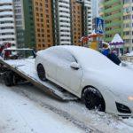 В Кирове проводится рейд по выявлению нарушений правил остановки и стоянки транспортных средств