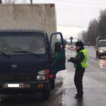 В Кирове проходят рейды по пресечению нарушений при перевозке пассажиров и грузов автомобильным транспортом