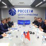 «Россети» представили губернатору Тульской области Алексею Дюмину новый центр управления сетями региона